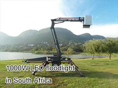 1000W LED floodlight in South Africa
