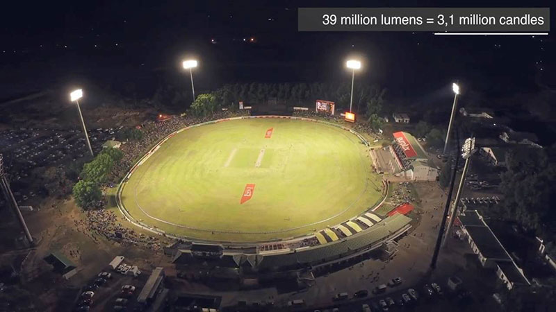 Boland Cricket LED Stadium Lighting in South Africa 7