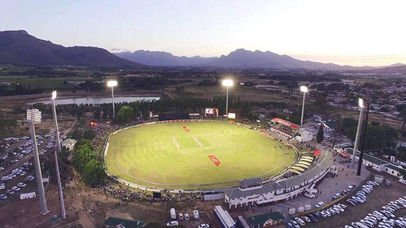 Boland Cricket LED Stadium Lighting in South Africa
