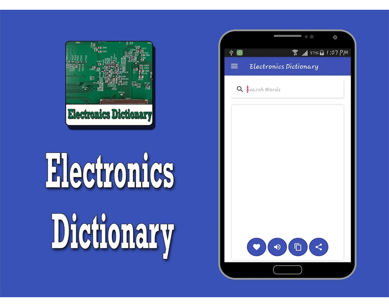 Electronics Dictionary Words