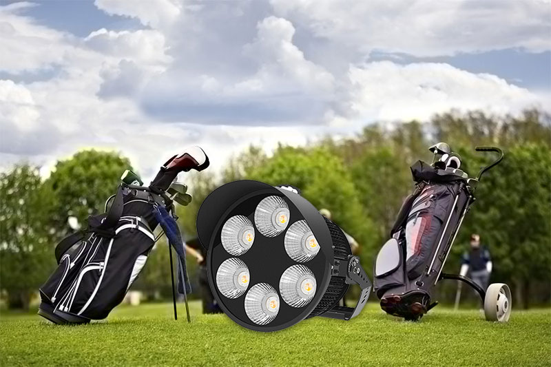 Golf range lighting Putter Green Area Illumination