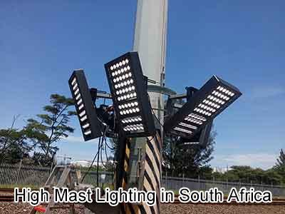 High Mast Lighting in South Africa GL-FL-500W