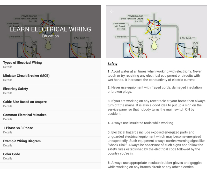 Learn Electrical Wiring by CleverDroid