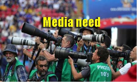 Stadium lighting is a need for print media