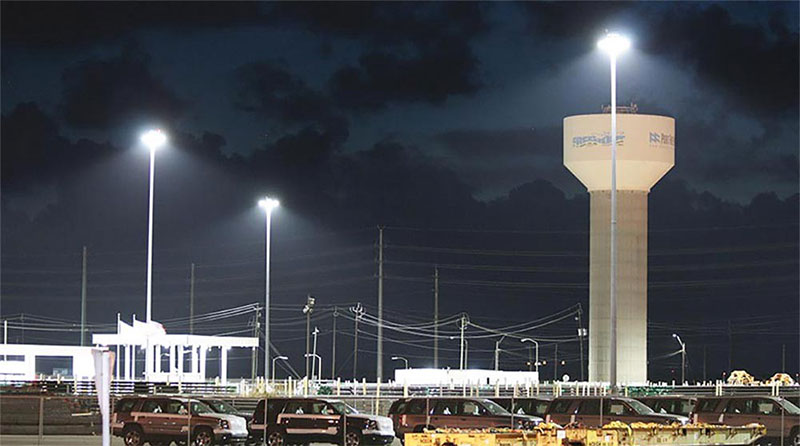 Why should we consider changing the traditional port lighting system to LED port lighting system