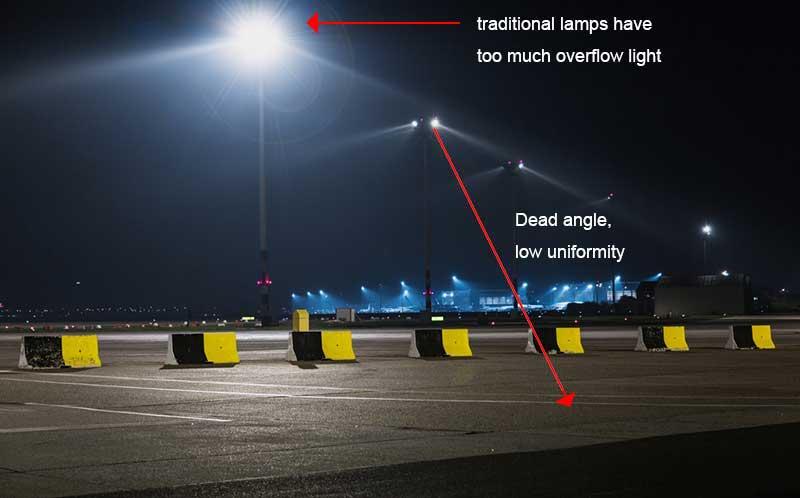 airport apron lighting