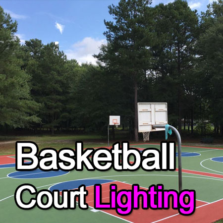 LED Basketball Court Lighting