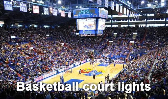 basketball court lights