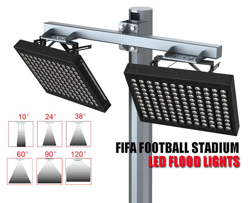 led football stadium lights Beam angle