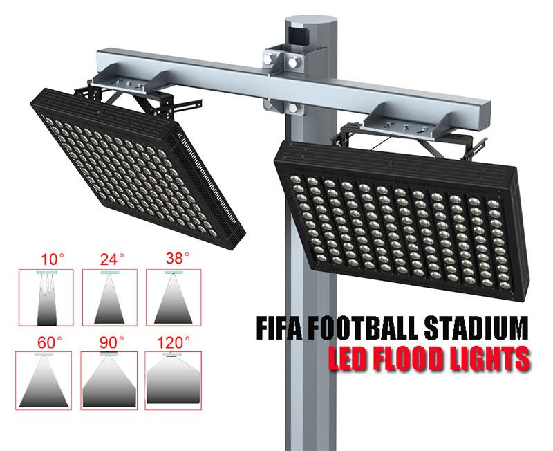 led football stadium lights Beam angle