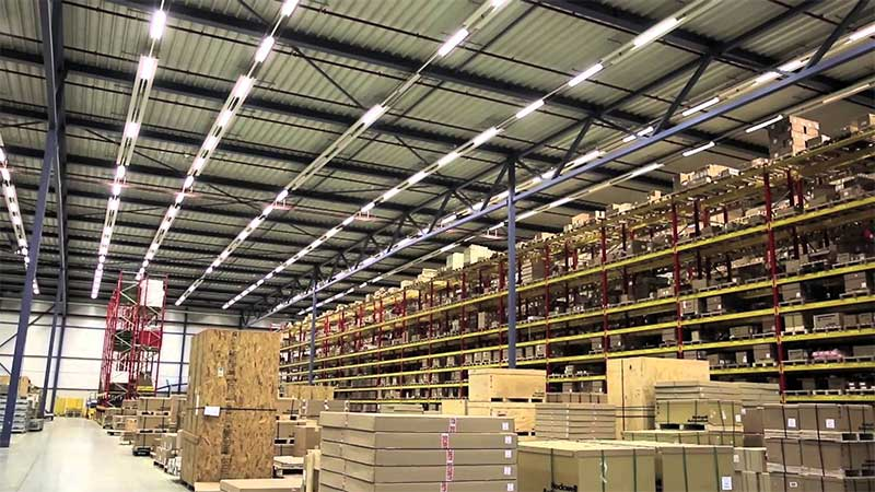 commercial warehouse lighting fixtures
