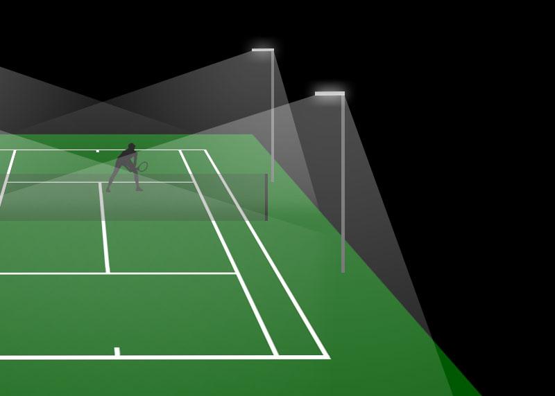 Led Tennis Court Flood Lighting Suppliers Mecree Led