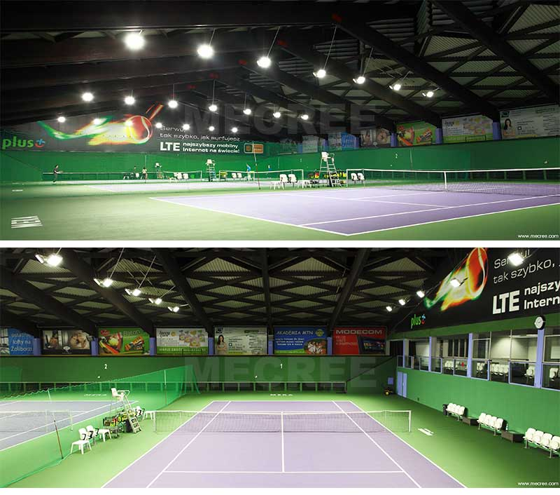 led tennis court lighting layout cost outdoor