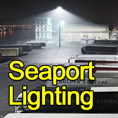 LED Seaport Lighting