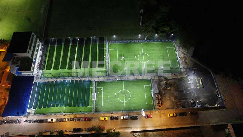 led floodlights for football pitches