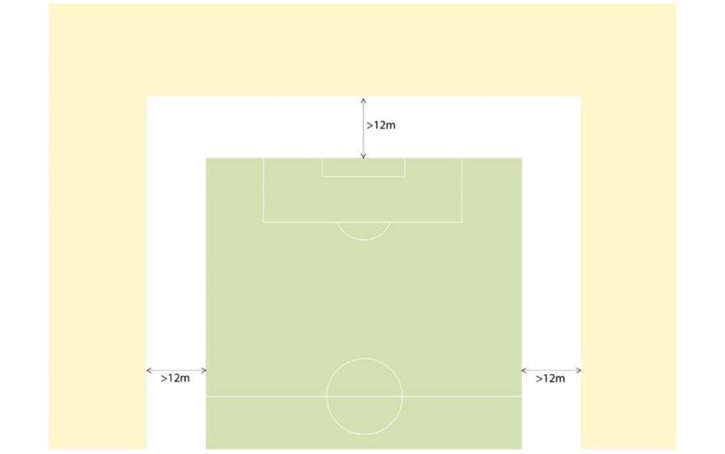 uefa stadium lighting led mecree