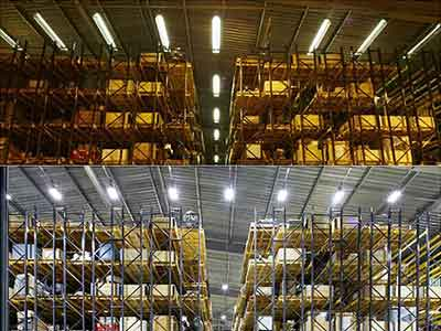 100W LED floodlight for warehouse in American