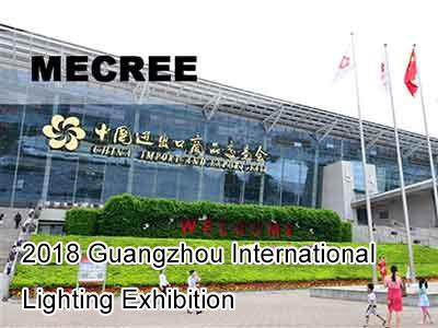 2018 Guangzhou International Lighting Exhibition – MECREE Unveiled New LED Sports Light