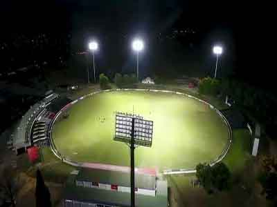 Boland Cricket Stadium in South Africa 1000w LED Floodlights