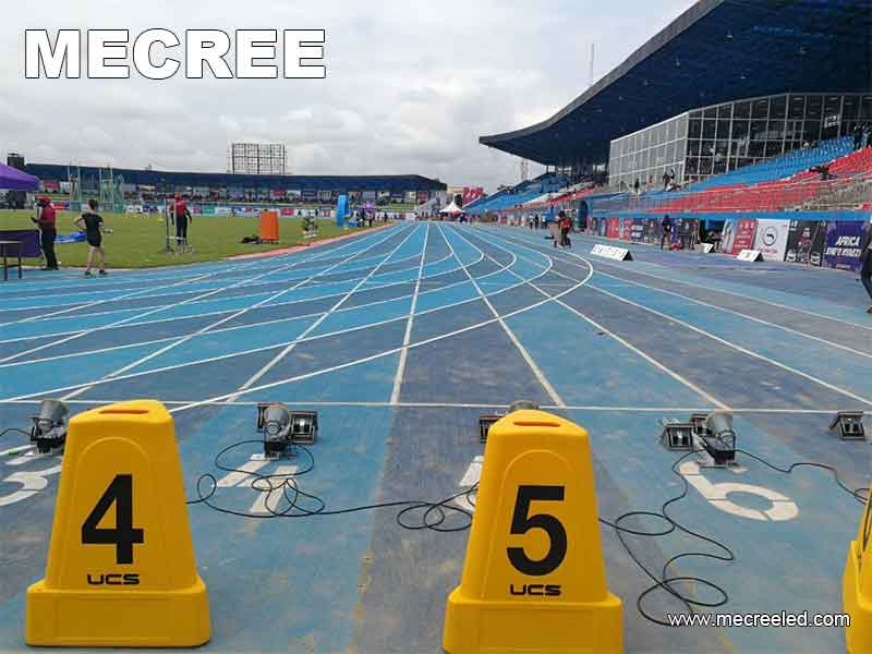 Nigeria Asaba stadium mecree led lighting