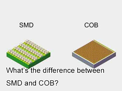 What's the difference between SMD and COB?