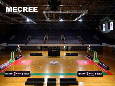 What's the best lighting arrangement for your basketball court project?