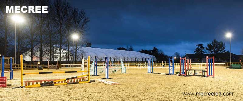 Horse Arena Lights Outdoor Lighting Mecree Led