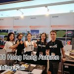 MECREE Four Types LED Flood Lights High-profile Debut in 2018 Hong Kong Autumn Lighting Fair