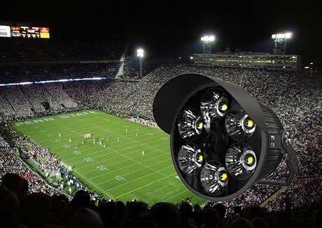 America football stadium light