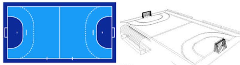 handball field lighting