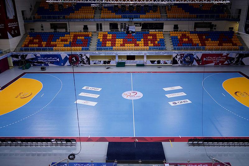indoor handball field lights