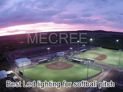 Best Led lighting for softball pitch