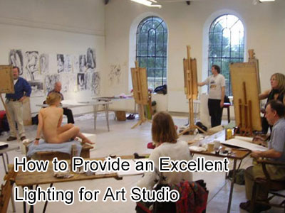 How to Provide an Excellent Lighting for Art Studio