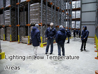 Lighting in Low Temperature Areas