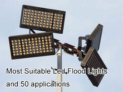 Most Suitable Led Flood Lights and 50 applications