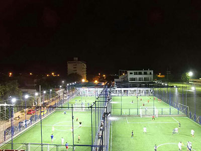 Cases Studies ( Using LED Floodlights to Replace MH Lamps)