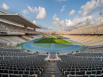 Montjuic Olympic Stadium, Barcelona