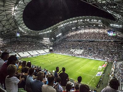 Stade Velodrom, Marseille stadium