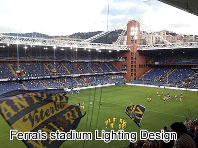 Ferrais stadium Lighting Design