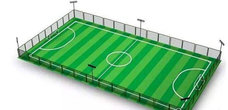 Futsal Field Lighting Soccer Design