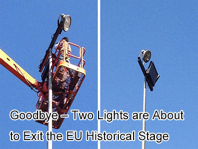 Goodbye – Two Lights are About to Exit the EU Historical Stage