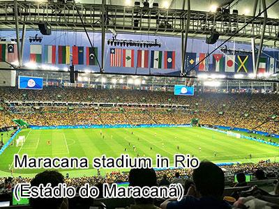 Maracana stadium in Rio (Estádio do Maracanã)