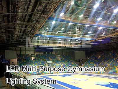 LED Multi-Purpose Gymnasium Lighting System