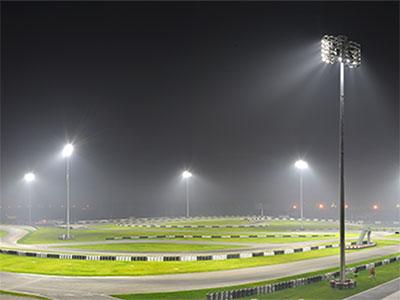 LED high mast lighting: High lumen LED flood light