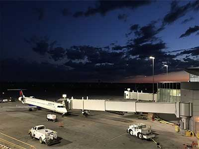 Application of Mecree LED Lighting in airport