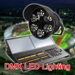 DMX LED lighting