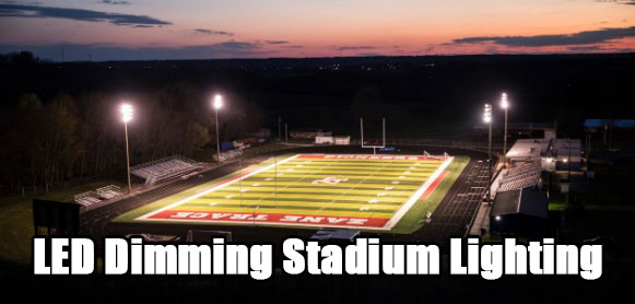 LED Dimming Stadium Lighting
