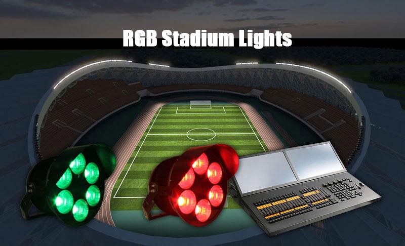 RGB Stadium Lights