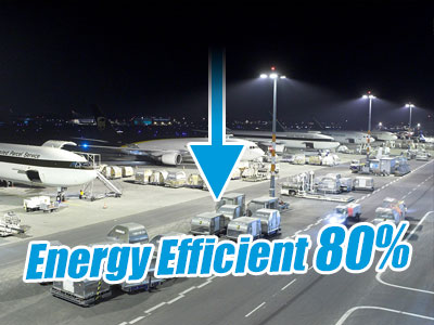 Energy Efficient LED Luminaires for Airports