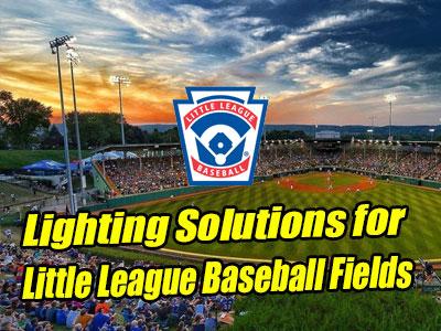 MECREE LED Lighting Solutions for Little League Baseball Fields